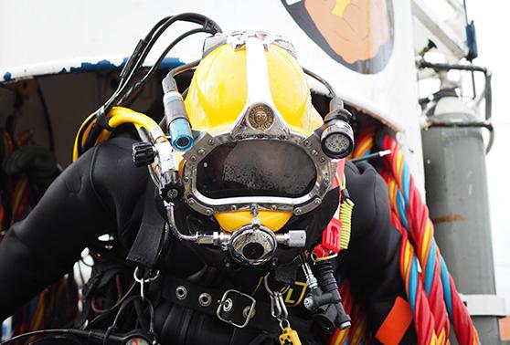Commercial Diver – Anläggningsdykare