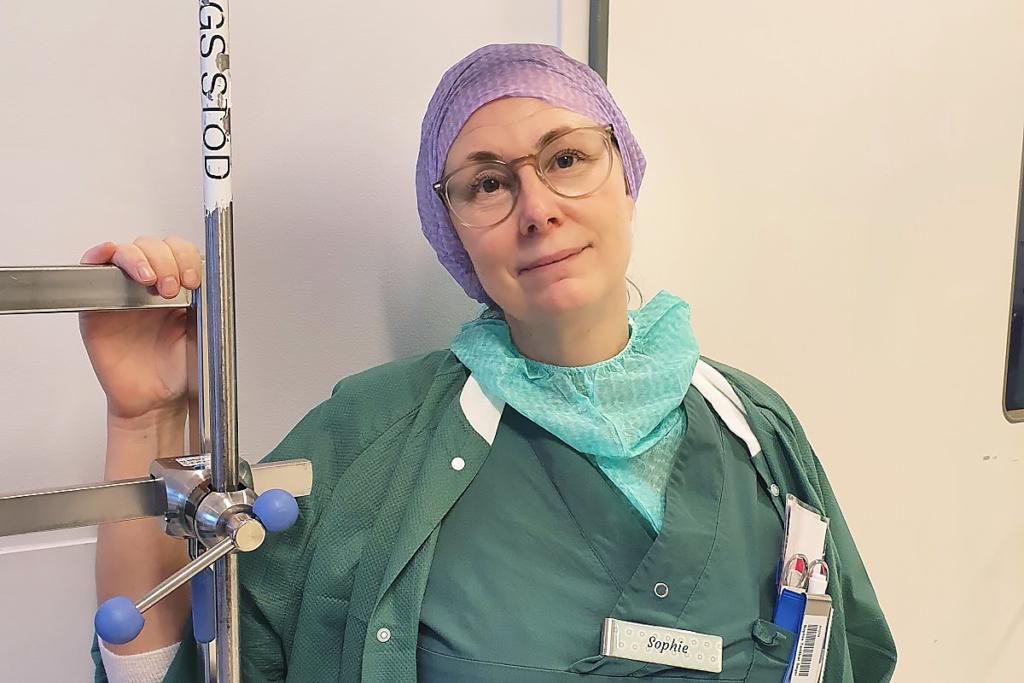 Sophie blev specialistundersköterska
